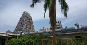 Thiruporur murugan temple gopuram