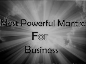 Business sucess mantra