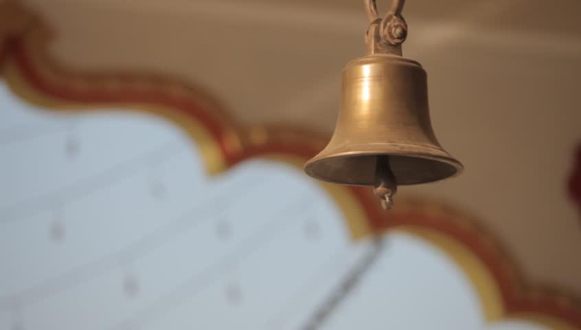 Ringing Bells in Temple