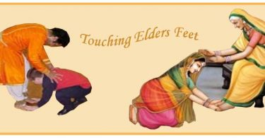 Touching Elders Feet