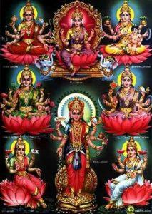 Ashta lakshmi mantras