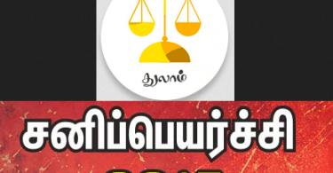 Thulam Sani Peyarchi
