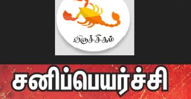 Viruchigam Sani Peyarchi