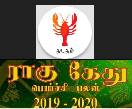 Kadagam Rahu Ketu palan 2019