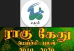 Magaram Rahu Ketu palan 2019