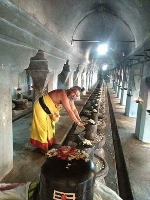 108 siva lingam temple