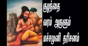 Machamuni Siddhar
