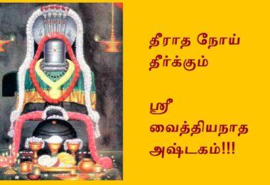 Vaidyanatha Ashtakam lyrics