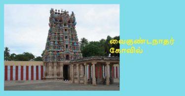 Srivaikuntam temple history